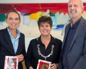 Sint chocolade letter Aktie, Rotary Lelystad, Sint voor ieder kind, Sinterklaas,