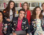 exchange-students, Rotary Lelystad, Buitenlandse studenten leven voor een jaar het Lelystadse leven. © Fotostudio Wierd